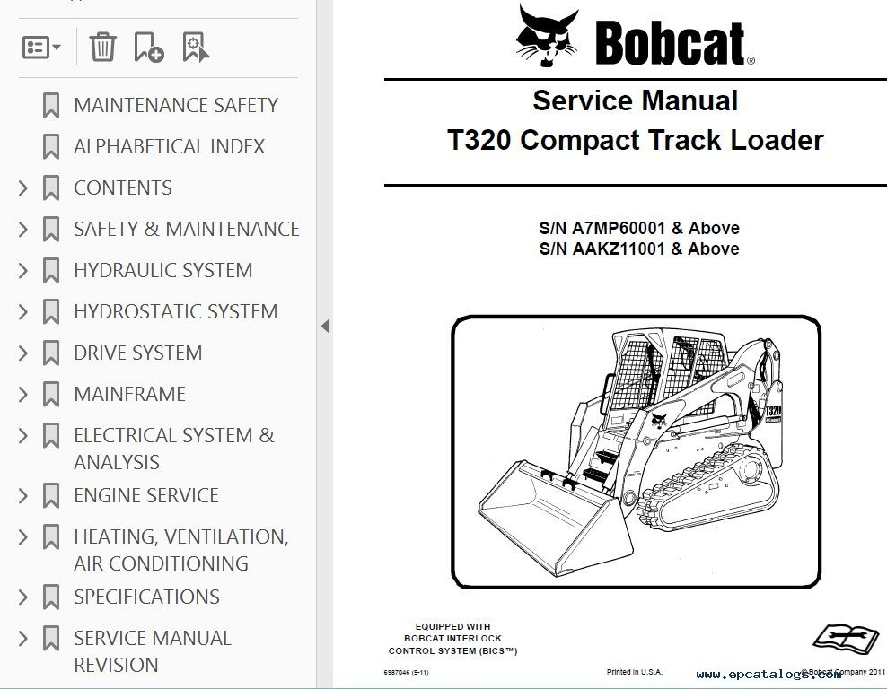 bobcat t320 compact track loader service manual pdf bobcat t320 wiring diagram on bobcat download wirning diagrams  at bakdesigns.co