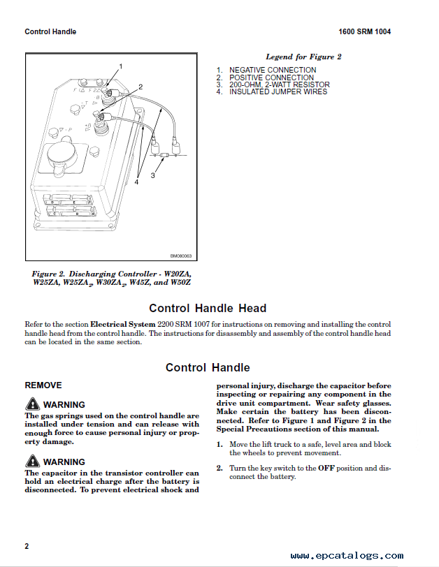 Hyster h80xm repair manual on