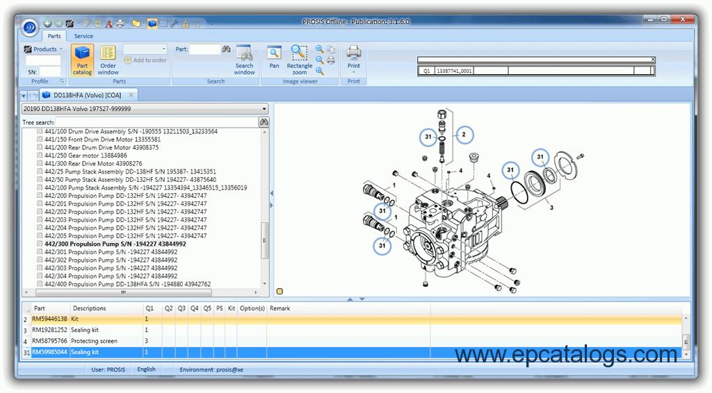 volvo prosis 2012 parts and repair manual download