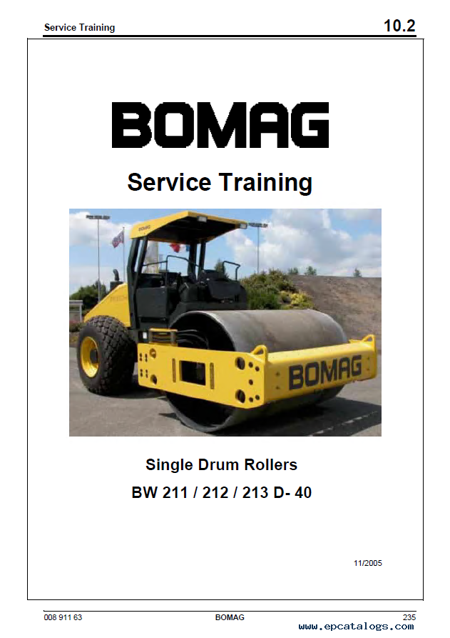 Download  Bomag Bw 211 3 Single Drum Vibratory Roller