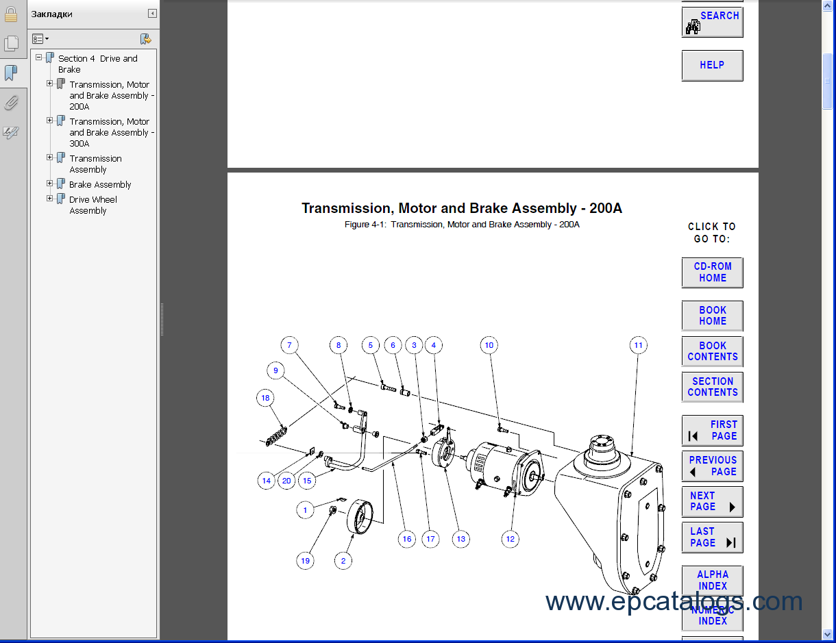 raymond forklift parts catalog pdf rh epcatalogs com Raymond Easi R40tt Raymond Easi Reach