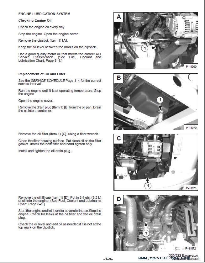 320 Bobcat manual