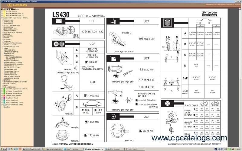 lexus ls430 repair manual pdf
