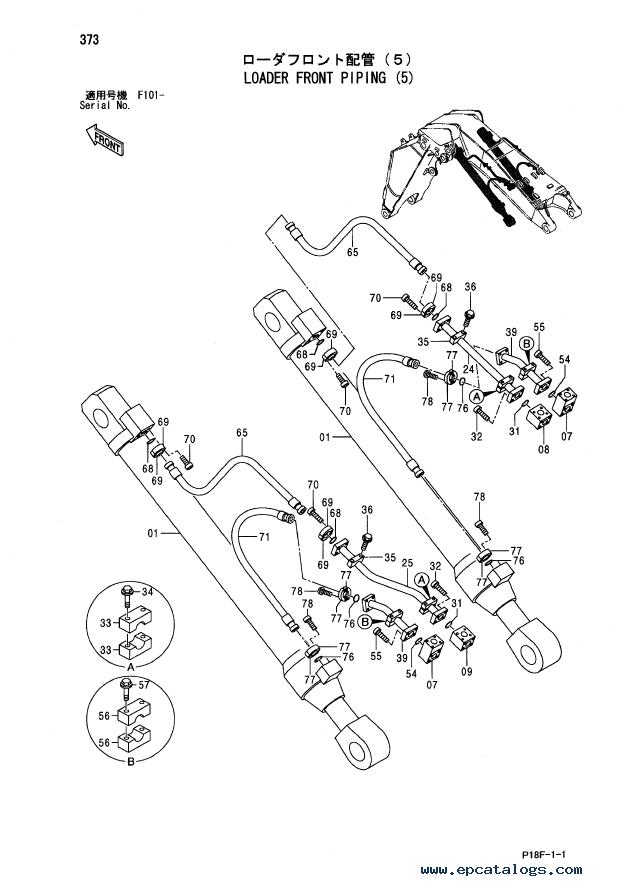Spare Parts Catalog Hitachi Ex12005d Excavator P18f11: 1932 Ford Coupe Parts Catalog At Sergidarder.com