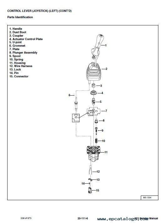 Bobcat 323 manual