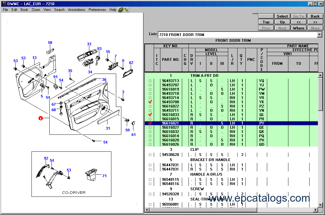 Download Daewoo Epc Electronic Parts Catalog 2006
