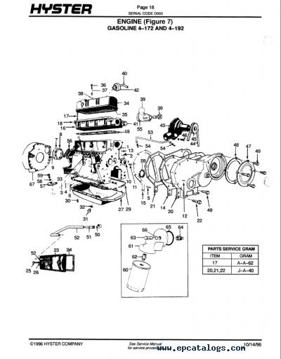 Hyster 50 Forklift Wiring Diagram