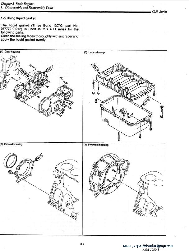 Yanmar Marine Diesel Engine 4LHE Series Service Manual PDF