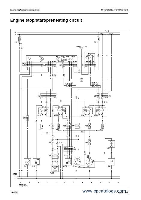komatsu wheel loader wa115 3 shop manual Komatsu 420 Loader Wiring-Diagram Komatsu 420 Loader Wiring-Diagram