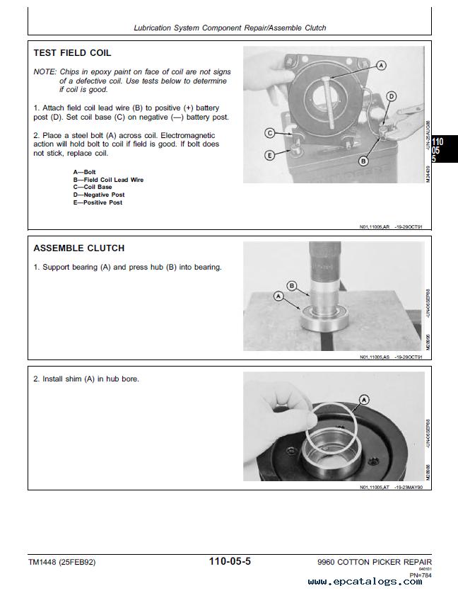 wc0704b pdf parts john deere