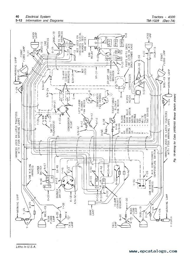 Jd 4320 Wiring Diagram - Wiring Diagram Home Jd Wiring Diagram on