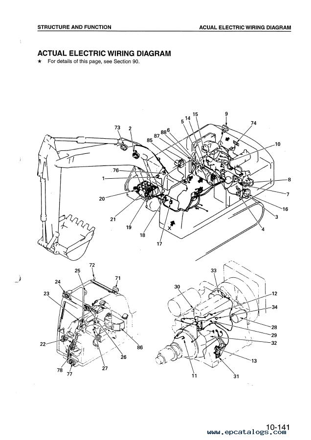 kubota tractor wiring diagrams opc komatsu hydraulic excavator pc340 pdf shop manual  komatsu hydraulic excavator pc340 pdf