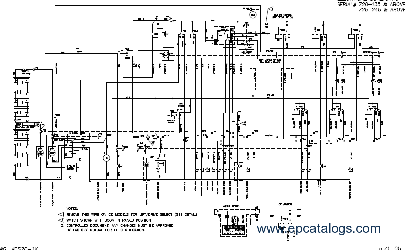genie schematic diagram manual rh epcatalogs com Genie Lift Parts List Genie Lift Parts List