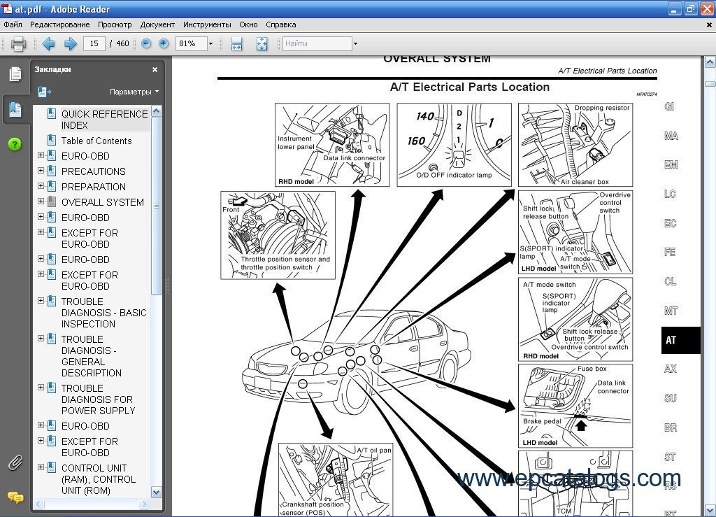 Nissan qashqai spare parts catalogue carnmotors all nissan infiniti esm repair manual cars manuals asfbconference2016 Image collections