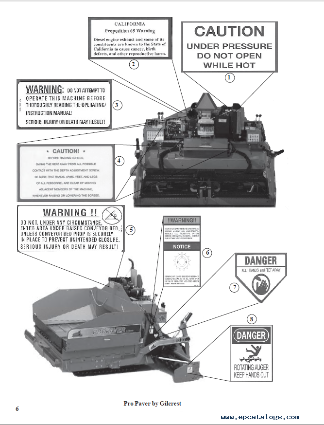 bomag propaver model 813 operations instructions parts pdf rh epcatalogs com BOMAG Asphalt Pavers Pavers BOMAG Paving Equipment