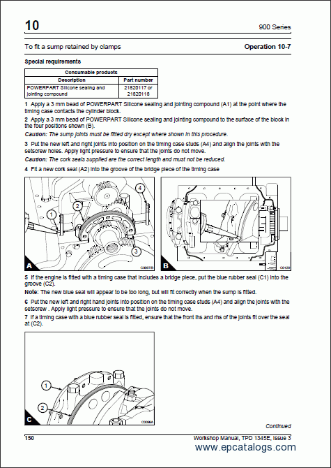 Perkins 100 Series Workshop Manual