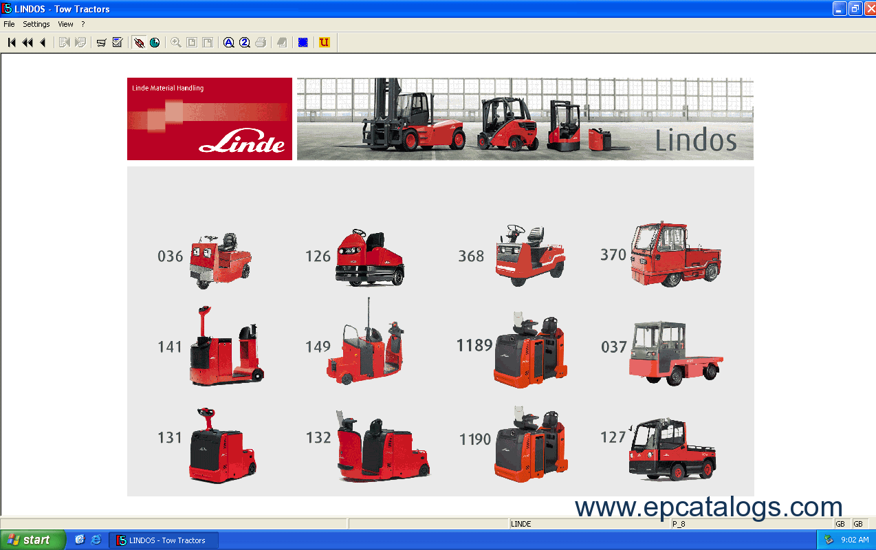 spare parts catalog Linde Fork Lift Truck 2014 Parts Manual - 7