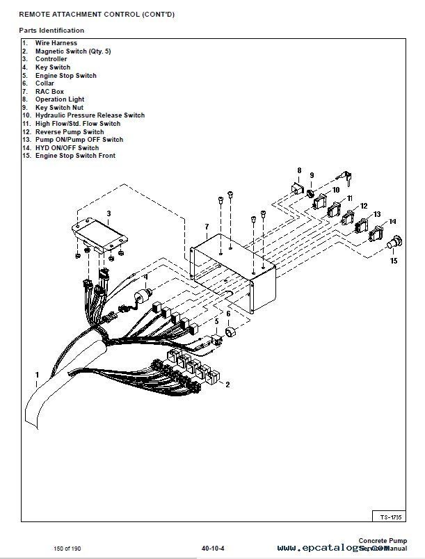 Bobcat 5610 Joystick Wire Diagram