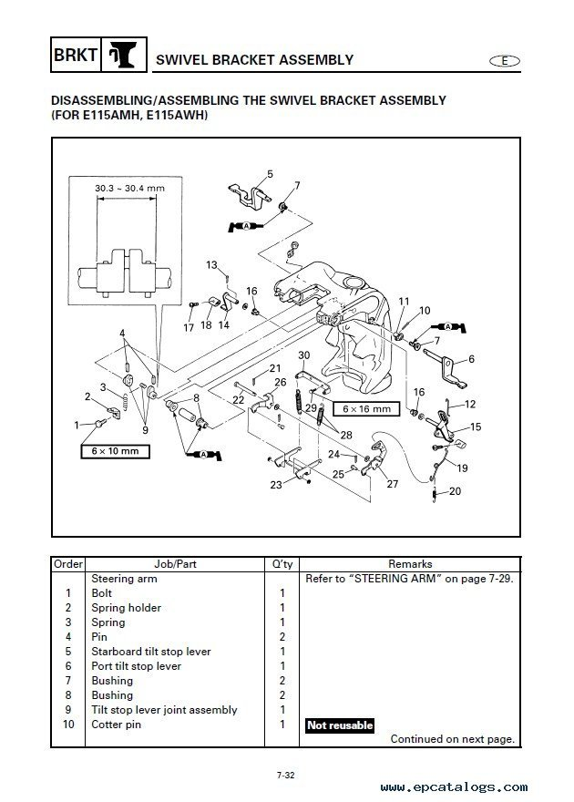 Yamaha Marine Outboards Service Manual PDF