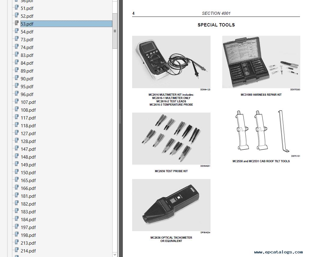 repair manual McCormick MTX Series Tractors Repair Manual PDF - 2