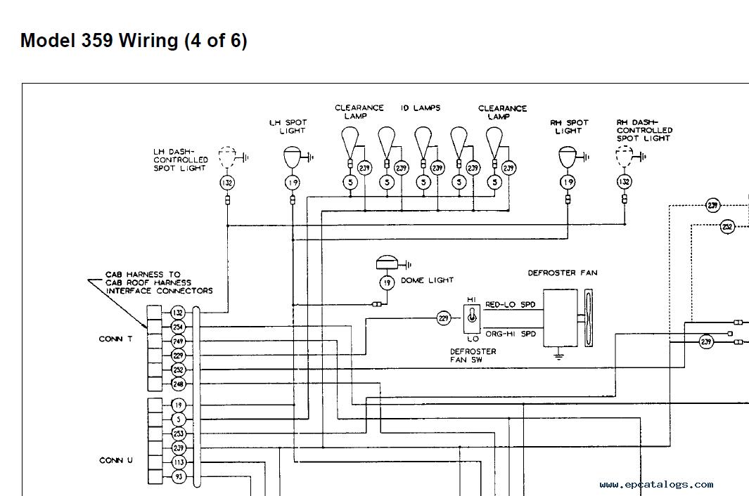 Peterbilt Model 359 Electrical Wiring, Peterbilt Wiring Diagrams