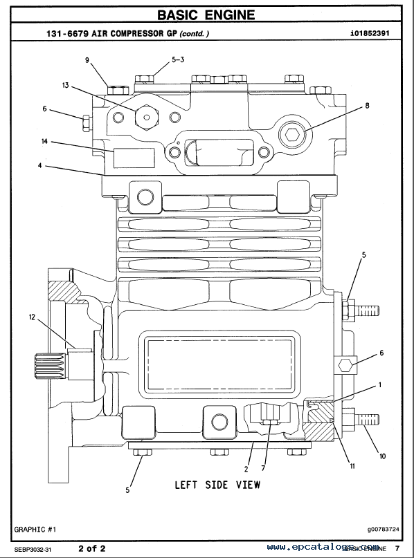 Caterpillar c15 Shop manual
