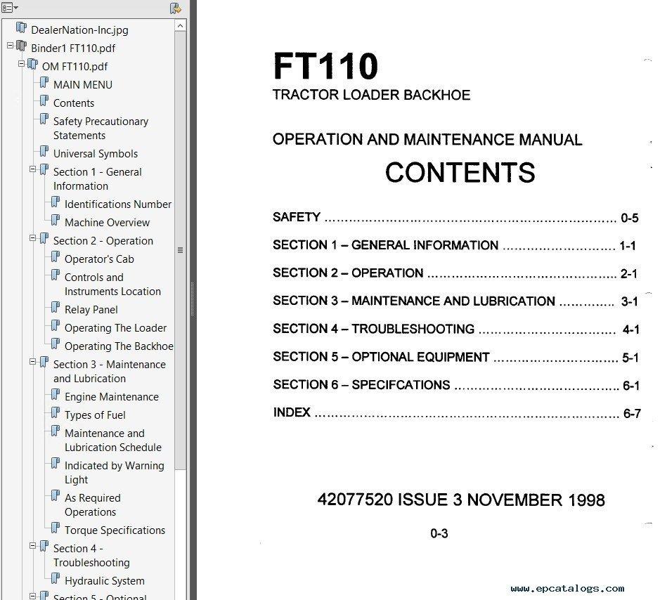 инструкция по обслуживанию fiat hitachi fb 200