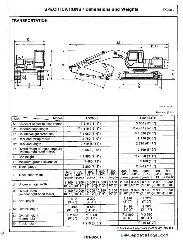 hitachi ex200 2 excavator technical workshop manual pdf rh epcatalogs com hitachi ex200-2 service manual Hitachi ZX330