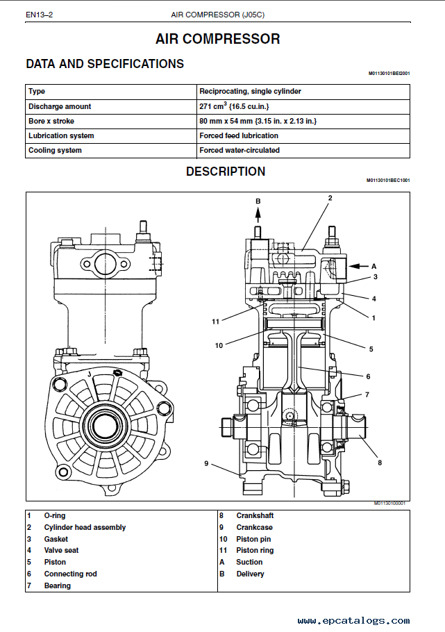 Hino J05c Ti Engine Workshop Manual Pdf
