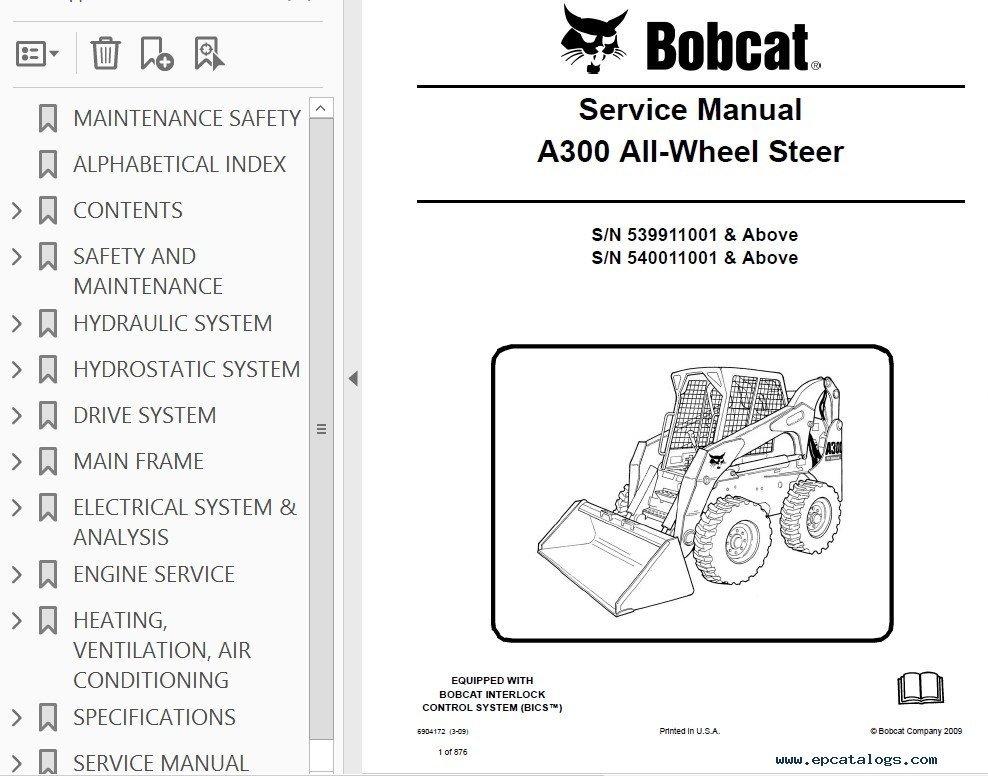 Bobcat A300 All