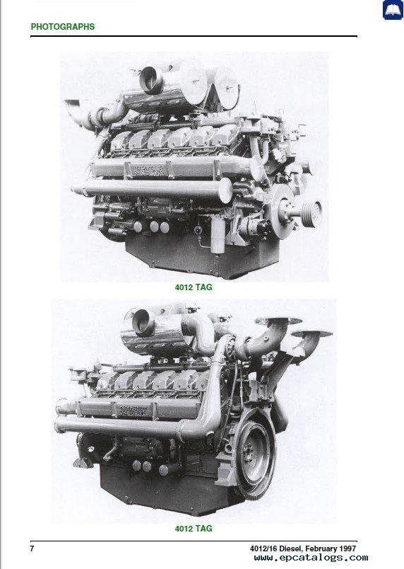 Perkins 4012 4016 Series Vee Form Diesel Engine Pdf Manual