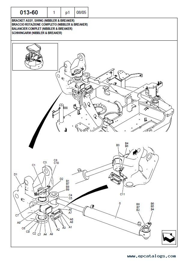 T6 Crawler Parts Manual Online