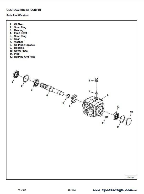 Bobcat tiller manual