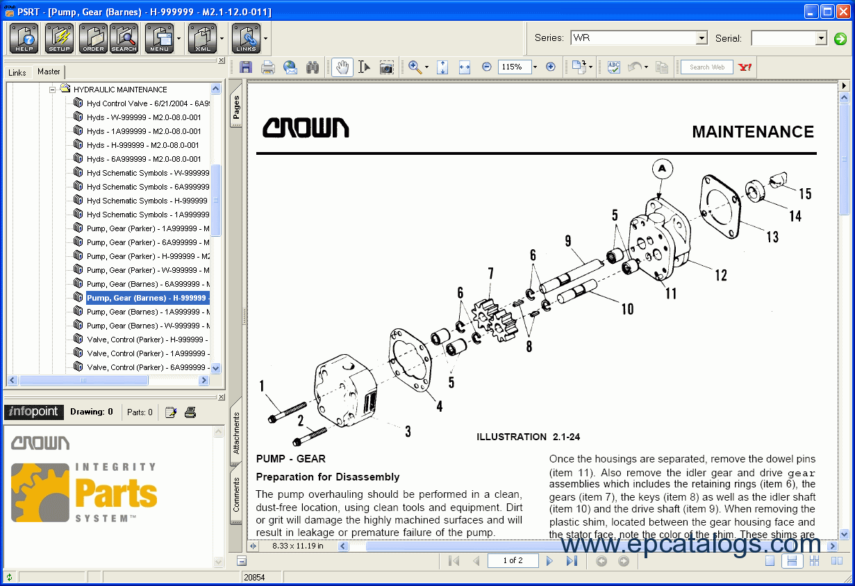 Crown Parts Service Resource Tool crown parts & service resource tool crown rc 3000 wiring diagram at webbmarketing.co