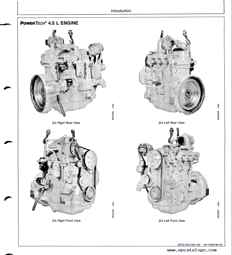 John Deere 6068 Engine Parts Diagrams Diagram Auto Parts