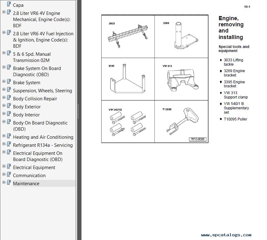 volkswagen service manual pdf