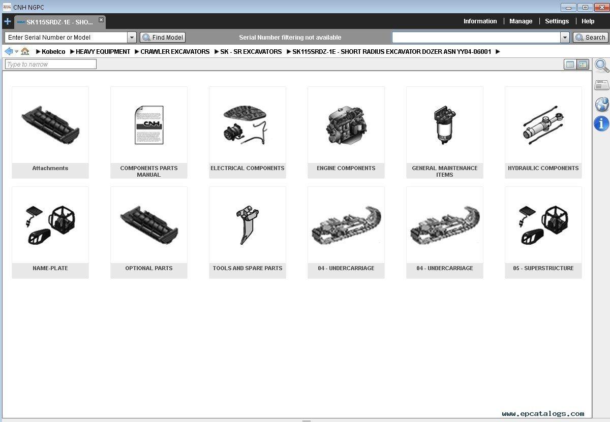 kobelco spare parts catalog all regions 2015 download rh epcatalogs com kobelco parts manual pdf kobelco sk60 parts manual