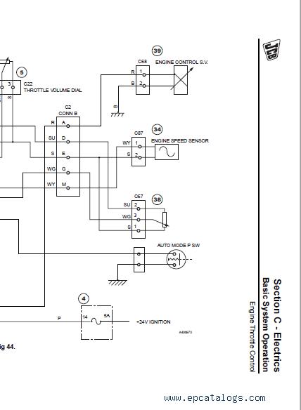 Jcb Excavator Js200 210 220, Jcb Wiring Diagram Pdf