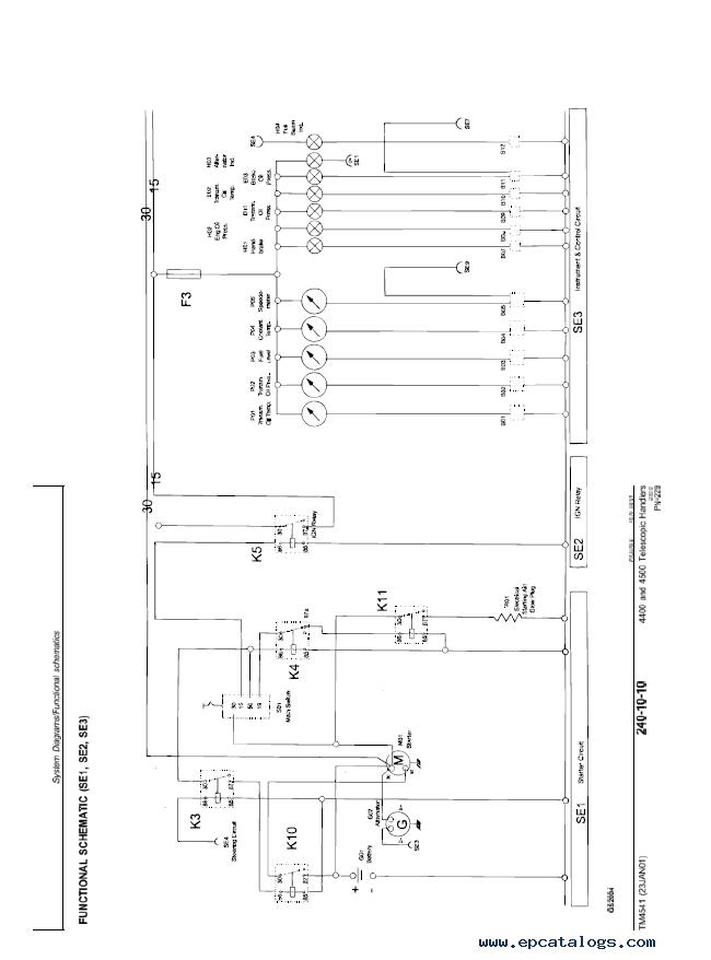 John Deere 4400 & 4500 Telescopic Handlers Technical Manual on ford 4500 tractor wiring diagram, john deere 4400 tractor wiring diagram, john deere 4600 tractor wiring diagram,