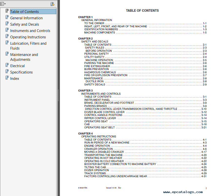 Case 650K/Tier II, 750K/Tier II, 850K/Tier II Series 2 Crawler Operators +  Repair Manual PDF