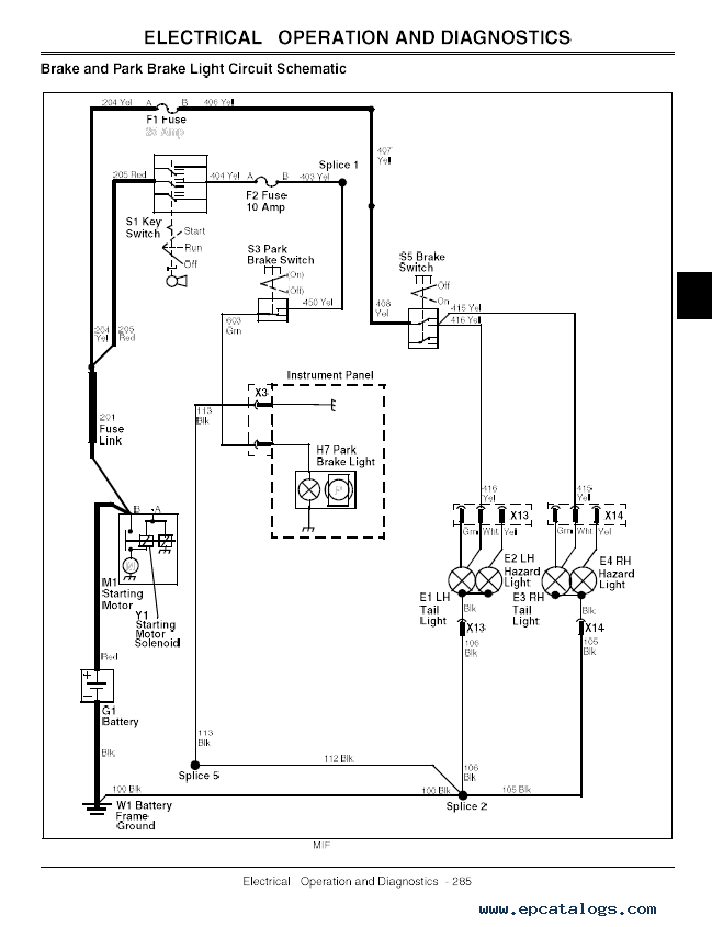 Wiring Diagram For A John Deere Gator : Wiring diagram for john tx deere gator
