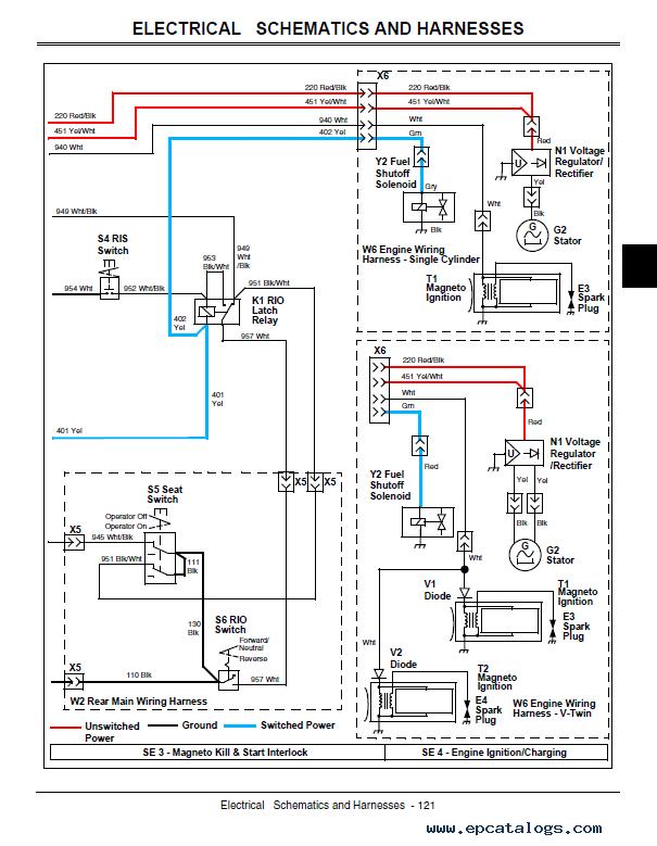 john-deere-la130-la140-la150-lawn-tractor-service-manual-pdf Jd La Wiring Diagram on