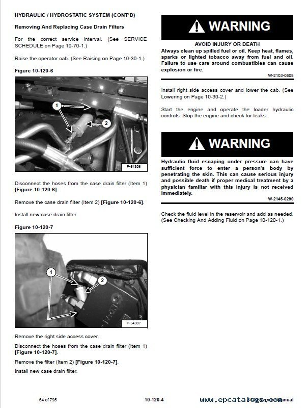 How To Drain Hydraulic Fluid Bobcat