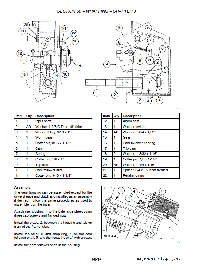 research.unir.net NEW HOLLAND ROUND BALER BR740 & BR750 OPERATORS ...