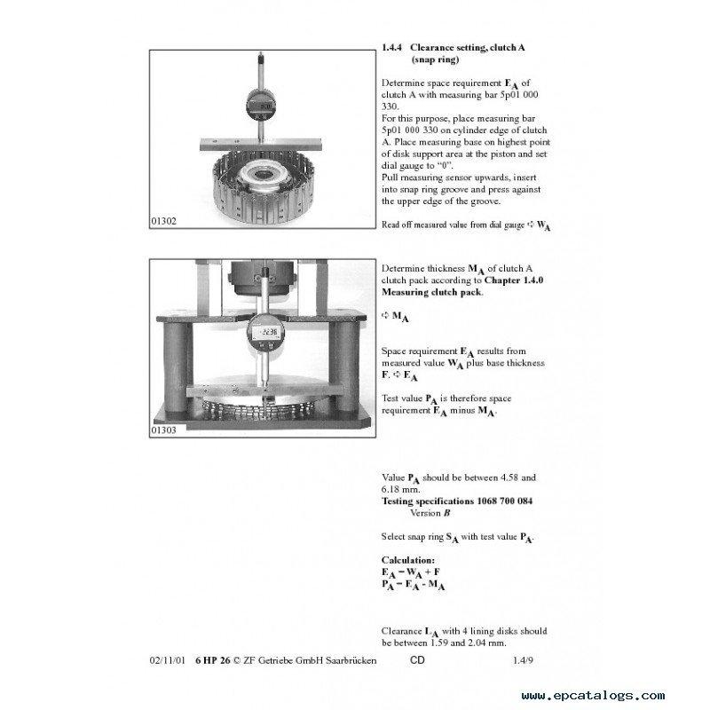 zf transmission repair manual free download