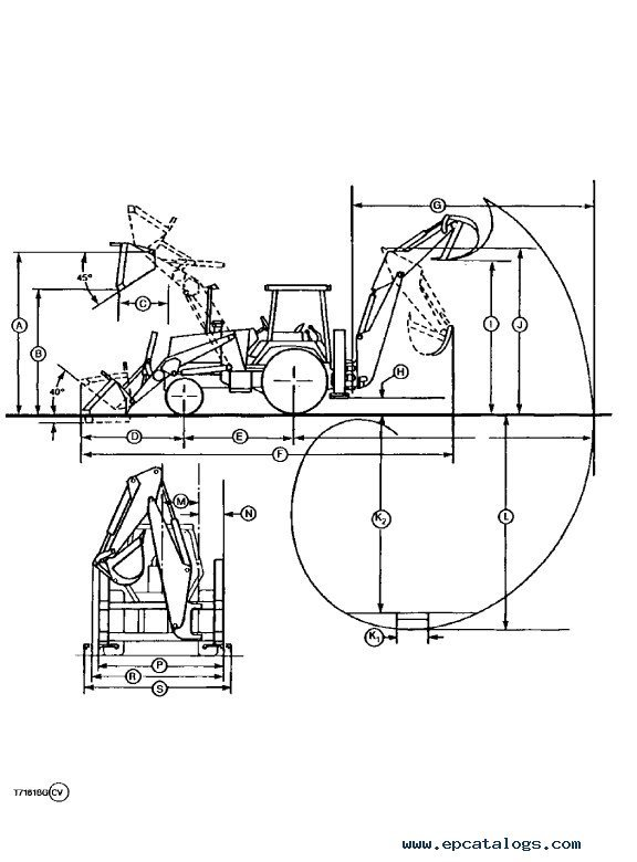 John Deere 300D 310D 315D Backhoe Loaders Repair Manual TM1497 PDF