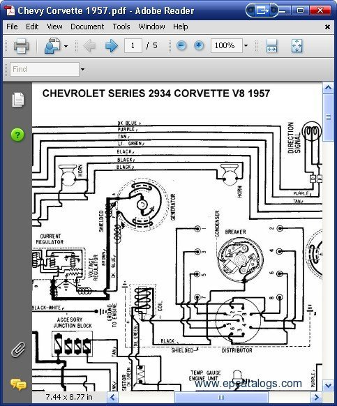 1957 chevy truck wiring harness diagram free chevrolet 2934 corvette v8 1957 wiring diagrams download