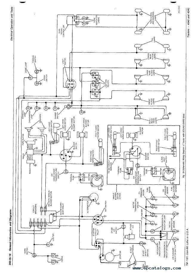 Jd 4240 Wiring Diagram furthermore 58vn7 Need Wiring Diagram John Deere 4020 24v further John Deere X300 Pto Wiring Diagram moreover Poulan Pro Pp5020av Gas Chainsaw Review likewise JG5c 5713. on john deere 445 wiring diagram