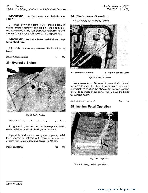 John Deere JD570, JD570A Motor Grader TM-1001 PDF on john deere b accessories, john deere b alternator conversion, john deere b parts diagram, john deere z225 wiring-diagram, john deere b starter diagram, john deere model b diagram, john deere 445 wiring-diagram, john deere lawn tractor electrical diagram, john deere tractor wiring, farmall wiring diagram, john deere b clutch diagram, john deere b fuel system, john deere 345 wiring-diagram, john deere b coil, john deere b carb diagram, john deere 325 wiring-diagram, john deere 4440 electrical diagram, john deere b transmission diagram, allis chalmers d14 wiring diagram, john deere b engine diagram,