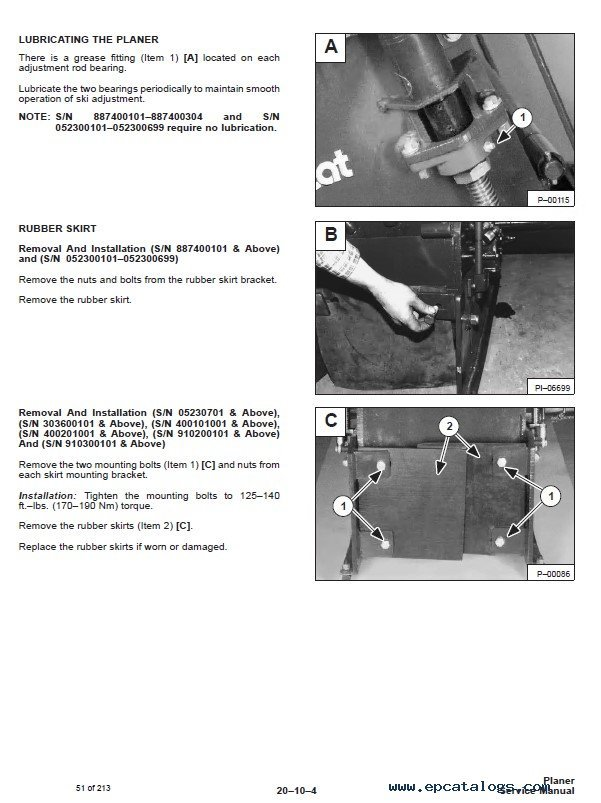 Bobcat Planer Service Manual Pdf